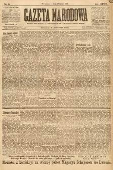 Gazeta Narodowa. 1898, nr54 i 55