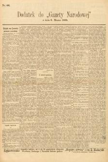 Gazeta Narodowa. 1898, nr66