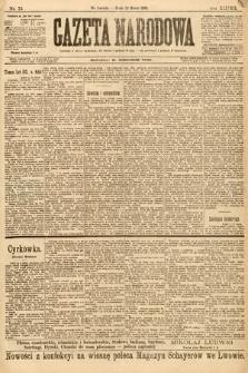 Gazeta Narodowa. 1898, nr75
