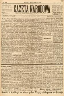 Gazeta Narodowa. 1898, nr100