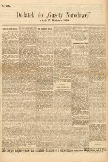 Gazeta Narodowa. 1898, nr107