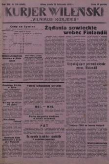 Kurjer Wileński = Vilniaus Kurjeris. 1939, nr269