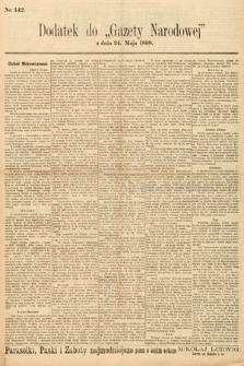 Gazeta Narodowa. 1898, nr142