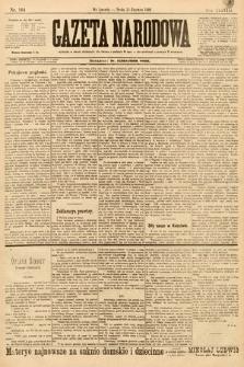 Gazeta Narodowa. 1898, nr164