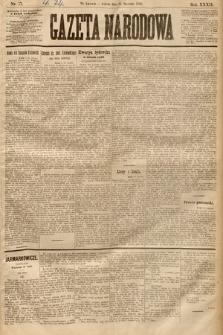 Gazeta Narodowa. 1893, nr17