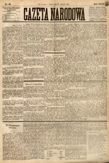 Gazeta Narodowa. 1887, nr17