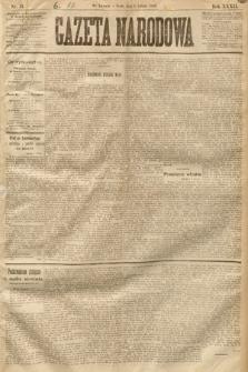 Gazeta Narodowa. 1893, nr31