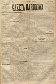 Gazeta Narodowa. 1893, nr64