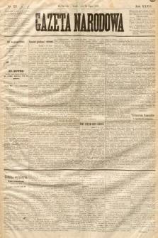 Gazeta Narodowa. 1893, nr172