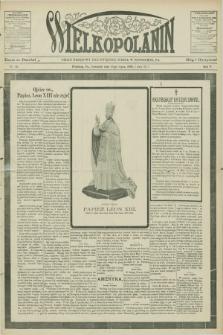 Wielkopolanin : organ urzędowy Unii Świętego Józefa w Pittsburgu, PA. R.5, No 30 (23 lipca 1903)