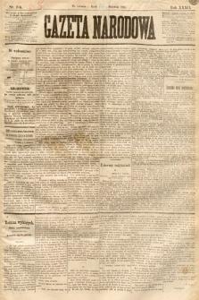 Gazeta Narodowa. 1893, nr204