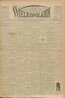 Wielkopolanin : organ urzędowy Unii Świętego Józefa w Pittsburgu, PA. R.9, No. 21 (23 maja 1907)