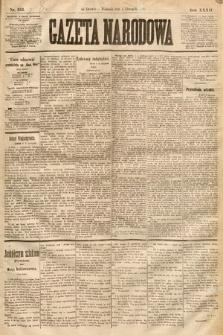Gazeta Narodowa. 1893, nr253