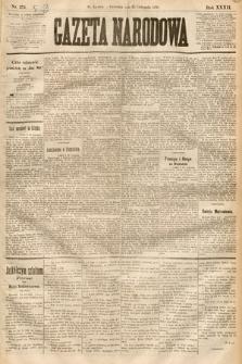 Gazeta Narodowa. 1893, nr274