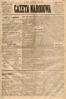 Gazeta Narodowa. 1893, nr291