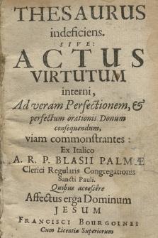 Affectus erga Dominum Iesum