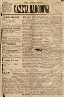 Gazeta Narodowa. 1893, nr298