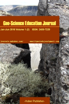 Geo-Science Education Journal. 2016, vol. 1/2