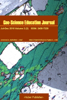 Geo-Science Education Journal. 2016, vol. 2/3