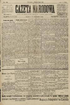 Gazeta Narodowa. 1898, nr184