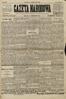 Gazeta Narodowa. 1898, nr186