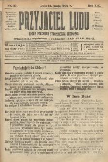 Przyjaciel Ludu : organ Polskiego Stronnictwa Ludowego. 1907, nr20