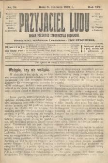 Przyjaciel Ludu : organ Polskiego Stronnictwa Ludowego. 1907, nr24
