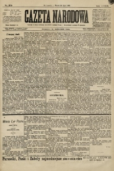 Gazeta Narodowa. 1898, nr205