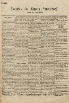 Gazeta Narodowa. 1898, nr211