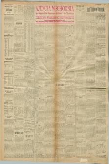 """Ajencja Wschodnia. Codzienne Wiadomości Ekonomiczne = Agence Télégraphique de l'Est = Telegraphenagentur """"Der Ostdienst"""" = Eastern Telegraphic Agency. R.8, nr 2 (3 stycznia 1928)"""
