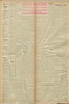 """Ajencja Wschodnia. Codzienne Wiadomości Ekonomiczne = Agence Télégraphique de l'Est = Telegraphenagentur """"Der Ostdienst"""" = Eastern Telegraphic Agency. R.8, nr 3 (4 stycznia 1928)"""
