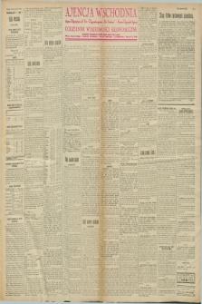 """Ajencja Wschodnia. Codzienne Wiadomości Ekonomiczne = Agence Télégraphique de l'Est = Telegraphenagentur """"Der Ostdienst"""" = Eastern Telegraphic Agency. R.8, nr 4 (5 stycznia 1928)"""