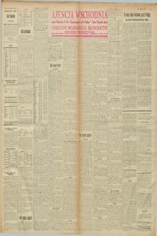 """Ajencja Wschodnia. Codzienne Wiadomości Ekonomiczne = Agence Télégraphique de l'Est = Telegraphenagentur """"Der Ostdienst"""" = Eastern Telegraphic Agency. R.8, nr 8 (11 stycznia 1928)"""