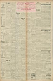 """Ajencja Wschodnia. Codzienne Wiadomości Ekonomiczne = Agence Télégraphique de l'Est = Telegraphenagentur """"Der Ostdienst"""" = Eastern Telegraphic Agency. R.8, nr 11 (14 stycznia 1928)"""