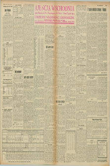 """Ajencja Wschodnia. Codzienne Wiadomości Ekonomiczne = Agence Télégraphique de l'Est = Telegraphenagentur """"Der Ostdienst"""" = Eastern Telegraphic Agency. R.8, nr 18 (22 i 23 stycznia 1928)"""