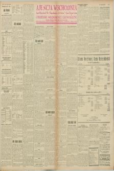 """Ajencja Wschodnia. Codzienne Wiadomości Ekonomiczne = Agence Télégraphique de l'Est = Telegraphenagentur """"Der Ostdienst"""" = Eastern Telegraphic Agency. R.8, nr 21 (26 stycznia 1928)"""