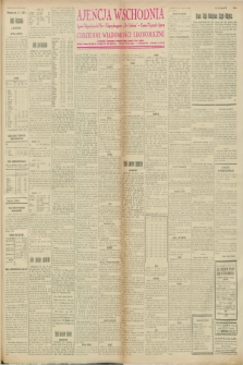 """Ajencja Wschodnia. Codzienne Wiadomości Ekonomiczne = Agence Télégraphique de l'Est = Telegraphenagentur """"Der Ostdienst"""" = Eastern Telegraphic Agency. R.8, nr 25 (31 stycznia 1928)"""
