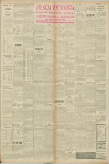 "Ajencja Wschodnia. Codzienne Wiadomości Ekonomiczne = Agence Télégraphique de l'Est = Telegraphenagentur ""Der Ostdienst"" = Eastern Telegraphic Agency. R.8, nr 30 (7 lutego 1928)"
