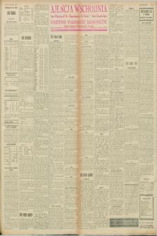 "Ajencja Wschodnia. Codzienne Wiadomości Ekonomiczne = Agence Télégraphique de l'Est = Telegraphenagentur ""Der Ostdienst"" = Eastern Telegraphic Agency. R.8, nr 33 (10 lutego 1928)"