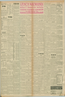 "Ajencja Wschodnia. Codzienne Wiadomości Ekonomiczne = Agence Télégraphique de l'Est = Telegraphenagentur ""Der Ostdienst"" = Eastern Telegraphic Agency. R.8, nr 39 (17 lutego 1928)"
