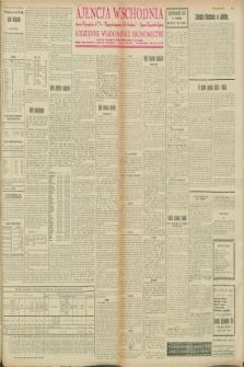 """Ajencja Wschodnia. Codzienne Wiadomości Ekonomiczne = Agence Télégraphique de l'Est = Telegraphenagentur """"Der Ostdienst"""" = Eastern Telegraphic Agency. R.8, nr 41 (19 i 20 lutego 1928)"""