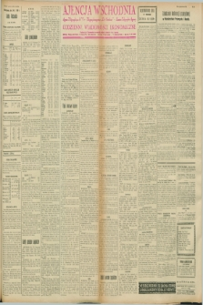 "Ajencja Wschodnia. Codzienne Wiadomości Ekonomiczne = Agence Télégraphique de l'Est = Telegraphenagentur ""Der Ostdienst"" = Eastern Telegraphic Agency. R.8, nr 45 (24 lutego 1928)"