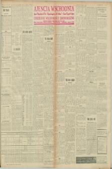 """Ajencja Wschodnia. Codzienne Wiadomości Ekonomiczne = Agence Télégraphique de l'Est = Telegraphenagentur """"Der Ostdienst"""" = Eastern Telegraphic Agency. R.8, nr 47 (26 i 27 lutego 1928)"""