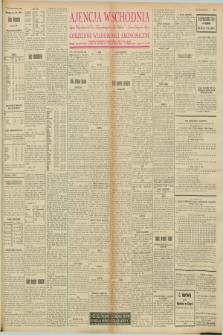 "Ajencja Wschodnia. Codzienne Wiadomości Ekonomiczne = Agence Télégraphique de l'Est = Telegraphenagentur ""Der Ostdienst"" = Eastern Telegraphic Agency. R.8, nr 57 (9 marca 1928)"