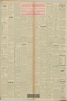 "Ajencja Wschodnia. Codzienne Wiadomości Ekonomiczne = Agence Télégraphique de l'Est = Telegraphenagentur ""Der Ostdienst"" = Eastern Telegraphic Agency. R.8, nr 58 (10 marca 1928)"