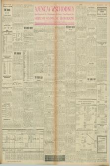 """Ajencja Wschodnia. Codzienne Wiadomości Ekonomiczne = Agence Télégraphique de l'Est = Telegraphenagentur """"Der Ostdienst"""" = Eastern Telegraphic Agency. R.8, nr 65 (18 i 19 marca 1928)"""
