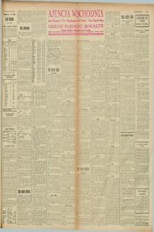 """Ajencja Wschodnia. Codzienne Wiadomości Ekonomiczne = Agence Télégraphique de l'Est = Telegraphenagentur """"Der Ostdienst"""" = Eastern Telegraphic Agency. R.8, nr 79 (4 kwietnia 1928)"""