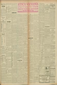"""Ajencja Wschodnia. Codzienne Wiadomości Ekonomiczne = Agence Télégraphique de l'Est = Telegraphenagentur """"Der Ostdienst"""" = Eastern Telegraphic Agency. R.8, nr 87 (17 kwietnia 1928)"""
