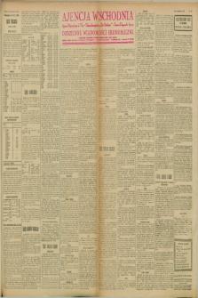 """Ajencja Wschodnia. Codzienne Wiadomości Ekonomiczne = Agence Télégraphique de l'Est = Telegraphenagentur """"Der Ostdienst"""" = Eastern Telegraphic Agency. R.8, nr 88 (18 kwietnia 1928)"""