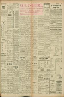 """Ajencja Wschodnia. Codzienne Wiadomości Ekonomiczne = Agence Télégraphique de l'Est = Telegraphenagentur """"Der Ostdienst"""" = Eastern Telegraphic Agency. R.8, nr 91 (21 kwietnia 1928)"""